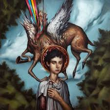 Circa Survive, Blue Sky Noise, Anthony Green, explores post-hardcore, progressive rock, psychedelic rock, Spirit of the Stairwell. Imaginary Enemy, Circa Survive third album