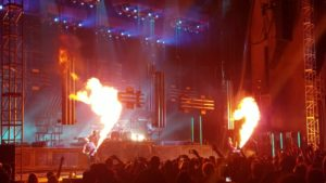 Rammstein, Jones Beach Theater, Rammstein concert, New York, industrial metal, German metal, Till Lindemann
