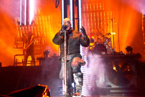 Till Lindemann, Rammstein, German metal, industrial metal, Jones Beach Threater, Rammstein concert, 25th June 2017, New York