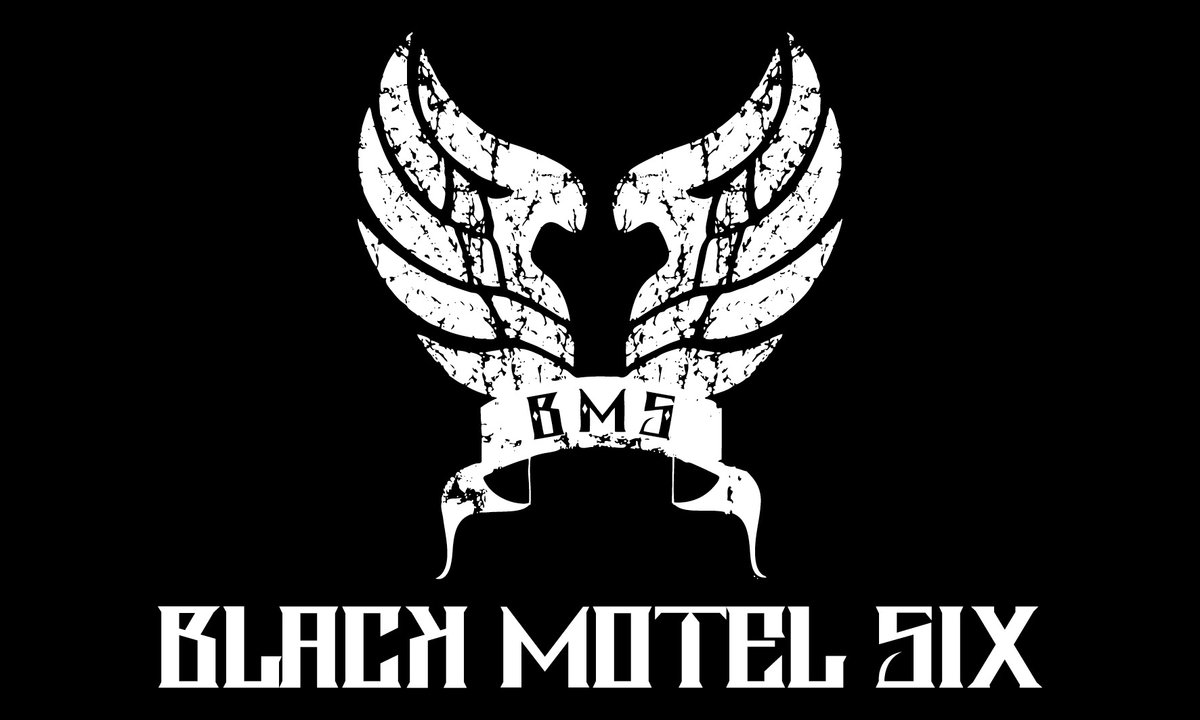 Black Motel Six logo white, Alessio Brancati, Andrea Angelini, Black Motel Six, Emanuele Calvelli, For a Long Time EP, Lacuna Coil opening act, Low Life, Marco Zuzolo, Mosquito, Never Enough, Revalve Records, Stefano Calabrese, Stone in the River, The Fool, Until I'm Gone, Everything In Its Place LP, On My Wounds, Scream, Handful of Dust, F.Y.S.O.B., Landslide pt.1, Landslide pt.2, Through a New Phase, Everything in Its Place, GN'R, Shame on You, Adriano Pigna, Bellum ferox infernum invocat, groove metal