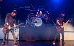 Chevelle Irving Plaza, Chevelle, alternative metal, post grunge, hard rock, Pete Loeffler, Sam Loeffler, Dean Bernardini, Chevelle Setlist, Irving Plaza New York July 11st 2017, Another Know It All, The Clincher, Young Wicked, Take Out the Gunman, An Island, Jars, Vitamin R (Leading Us Along), Rivers, Joyride (Omen), Face to the Floor, Emotional Drought, I Get It, An Evening With El Diablo, Door to Door Cannibals, Hats Off to the Bull, Encore: The Red, Forfeit, Send the Pain Below, concert review, concerts, Sick and Sound