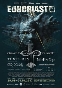 Euroblast Metal Festival Cologne 2017, Euroblast festival, Cologne, GERMANY, 29th September – 1st October 2017,DEVIN TOWNSEND PROJECT, TEXTURES Metalcore from Netherlands, TWELVE FOOT NINJA Alternative metal from Australia, CAR BOMB Metalcore from US,EXIVIUS Death metal from Netherlands,heavy metal, hard rock, UPCOMING ROCK AND METAL EVENTS AROUND THE WORLD September 2017, festivals, festival, concerts