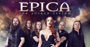 Epica The Solace System, The Solace System EP, Epica, The Holographic Principle, The Phantom Agony, Consign to Oblivion, Design Your Universe, Requiem for the Indifferent, The Quantum Enigma, We Will Take You with Us, The Classical Conspiracy, Nuclear Blast, symphonic metal, epic metal, Simone Simons, Mark Jansen, Rob van der Loo, Isaac Delahaye, Ariën van Weesenbeek, Coen Janssen. The Solace System, Fight Your Demons, Architect of Light , Wheel of Destiny, Immortal Melancholy, Decoded Poetry, Top 10 Songs Of The Week, playlist, albums, symphonic metal