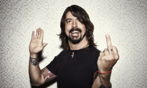 Dave Grohl character,Foo Fighters, Foo Fighters band, Concrete and Gold, listen to latest album by Foo Fighters, listen to Concrete and Gold, Concrete and Gold review, Gregg Kurstin, Justin Timberlake, Shawn Stockman from Boyz II Men, and Alison Mosshart from The Kills, Paul McCartney, Dave Koz, Alternative rock, Hard rock, Roswell Records, Sony Music, T-Shirt, Run, Make It Right, The Sky Is A Neighborhood, La Dee Da, Dirty Water, Arrows, Happy Ever After (Zero Hour), Sunday Rain, The Line, Concrete and Gold, Dave Grohl, Chris Shiflett, Pat Smear, Nate Mendel, Rami Jaffee, Taylor Hawkins, Diego Becerra, sickandsound, Albums, Artists
