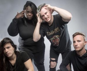 Tetrarch band sickandsound, Adrenaline PR, Maria Ferrero, Tetrarch interview, Let Your Psycho Loose, Interview with Diamond Rowe from Tetrarch, Alessandra Gordon, Tetrarch Freak recensione, nu metal album review, Tetrarch, Tetrarch band, Josh Fore, Diamond Rowe, Ryan Lerner, Ruben Limas, Pravda, The Will to Fight, Relentless, Freak, Listen to Tetrarch Freak, Latest Tetrarch album review, Tetrarch Freak review, Freak album review, sickandsound, albums, nu metalcore, metalcore, trash metal, hardcore melodico, post-hardcore, Dave Otero, Diamond Rowe guitar shredder, Freak, Spit, Pull the Trigger, Mary, Oddity, Break the Trend, Please Let me, Torn Apart, Tetrarch music