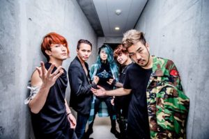 Crossfaith metalcore band, Crossfaith, Crossafaith band, Crossfaith Wipeout EP, Crossfaith Wipeout EP review, Crossfaith Wipeout EP recensione, latest album by Crossfaith, Kenta Koie, Kazuki Takemura, Hiroki Ikegawa, Tatsuya Amano, The Artificial Theory for the Dramatic Beauty, The Dream the Space, Apocalyze, Xeno, Zion, New Age Warriors, New Age Warriors Remix, Freedom, Wipeout, Josh Wilbur, Sony Records, UNFD, Wipeout EP, Wipeout, Inside The Flames , Vermillion Gold, metalcore, electronicore, hardcore, sickandsound, metalcore album review