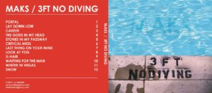 Maks 3ft No Diving cover, Maks 3ft No Diving review, Maks 3ft No Diving recensione, Maks, Maks Antraks, Peter Lebbink, Claudio Guliker, Peter Barnouw, Andy Kockelkoren, Jeroen van Tuijl, Tommy Stillwe, rock, country rock, blue rock, new wave, sickandsound, Listen to Maks 3ft No Diving, Stream Maks 3ft No Diving, Maks 3ft No Diving album, JVT band, Winter In Vegas, The Heart Machine, 3Ft No Diving, Portal, Lay Down Low, Career, Last Thing On Your Mind, The Gods In My Head, Stones in My Passway, Waiting for The Man, Critical Mess, Look At You, Xhair, Winter In Vegas, Snow, Maks Agency, Maks Antraks solo project, Maks A. musician, album review, Emerging artist of the week