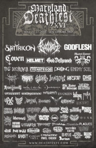 Maryland Deathfest 2018 , Satyricon, Godflesh, Bloodbath, My Dying Bride, Prong, Ufomammut, UPCOMING ROCK AND METAL EVENTS AROUND THE WORLD May 2018, sickandsound, US summer festivals, metal festival, concert dates, European Tour 2018, upcoming festivals, upcoming hard rock and metal festivals, festival, concerts, metalcore, deathcore, punk rock, hard rock, heavy metal, death metal, post-hardcore, black metal, technical death metal, metal