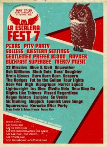 La Escalera Fest 7, laescalerafest, Pears, Pity Party, Boss' Daughter, Success, Spanish Love Songs, Western Settings, Sic Waiting, HiGH, Gentlemen Prefer Blood, UPCOMING ROCK AND METAL EVENTS AROUND THE WORLD May 2018, sickandsound, US summer festivals, metal festival, concert dates, European Tour 2018, upcoming festivals, upcoming hard rock and metal festivals, festival, concerts, metalcore, deathcore, punk rock, hard rock, heavy metal, death metal, post-hardcore