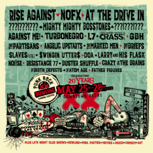 Punk Rock Bowling 2018, Rise Against, NOFX, At The Drive-In, The Marked Men, Against Me!, Suicidal Tendencies, L7, X, Turbonegro, Mighty Mighty Bosstone, UPCOMING ROCK AND METAL EVENTS AROUND THE WORLD May 2018, sickandsound, US summer festivals, metal festival, concert dates, European Tour 2018, upcoming festivals, upcoming hard rock and metal festivals, festival, concerts, metalcore, deathcore, punk rock, hard rock, heavy metal, death metal, post-hardcore, hardcore punk