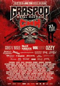 Graspop Metal Meeting 2018, UPCOMING ROCK AND METAL EVENTS AROUND THE WORLD June 2018, sickandsound, US summer festivals, metal festival, concert dates, European Tour 2018, upcoming festivals, upcoming hard rock and metal festivals, festival, concerts, metalcore, deathcore, punk rock, hard rock, heavy metal, death metal, post-hardcore, A Perfect Circle European Tour, Arch Enemy European Tour, Copenhell Festival, Dead Cross European Tour, Download Festival, Firenze Rocks 2018, Fortarock Festival 2018, Graspop Metal meeting 2018, Greenfield Festival, Hellfest Open Air, Hellfest Open Air 2018, iDays Festival, Iron Maiden - Legacy of The Beast European Tour 2018, Jera On Air 2018, MARILYN MANSON European, Megadeth European Tour, Meshuggah European Tour, Novarock Festival 2018, Rock Am Ring festival 2018, Rock Im Park festival 2018, Rock In Roma, Rock The Castle Festival, Sons Of Apollo European Tour, Tuska Open Air 2018, USA Cross country Vans Warped Tour 2018, Vans Warped Tour 2018