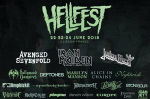 Hellfest 2018, UPCOMING ROCK AND METAL EVENTS AROUND THE WORLD June 2018, sickandsound, US summer festivals, metal festival, concert dates, European Tour 2018, upcoming festivals, upcoming hard rock and metal festivals, festival, concerts, metalcore, deathcore, punk rock, hard rock, heavy metal, death metal, post-hardcore, A Perfect Circle European Tour, Arch Enemy European Tour, Copenhell Festival, Dead Cross European Tour, Download Festival, Firenze Rocks 2018, Fortarock Festival 2018, Graspop Metal meeting 2018, Greenfield Festival, Hellfest Open Air, Hellfest Open Air 2018, iDays Festival, Iron Maiden - Legacy of The Beast European Tour 2018, Jera On Air 2018, MARILYN MANSON European, Megadeth European Tour, Meshuggah European Tour, Novarock Festival 2018, Rock Am Ring festival 2018, Rock Im Park festival 2018, Rock In Roma, Rock The Castle Festival, Sons Of Apollo European Tour, Tuska Open Air 2018, USA Cross country Vans Warped Tour 2018, Vans Warped Tour 2018