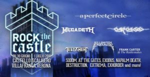 Rock The Castle 2018, UPCOMING ROCK AND METAL EVENTS AROUND THE WORLD June 2018, sickandsound, US summer festivals, metal festival, concert dates, European Tour 2018, upcoming festivals, upcoming hard rock and metal festivals, festival, concerts, metalcore, deathcore, punk rock, hard rock, heavy metal, death metal, post-hardcore, A Perfect Circle European Tour, Arch Enemy European Tour, Copenhell Festival, Dead Cross European Tour, Download Festival, Firenze Rocks 2018, Fortarock Festival 2018, Graspop Metal meeting 2018, Greenfield Festival, Hellfest Open Air, Hellfest Open Air 2018, iDays Festival, Iron Maiden - Legacy of The Beast European Tour 2018, Jera On Air 2018, MARILYN MANSON European, Megadeth European Tour, Meshuggah European Tour, Novarock Festival 2018, Rock Am Ring festival 2018, Rock Im Park festival 2018, Rock In Roma, Rock The Castle Festival, Sons Of Apollo European Tour, Tuska Open Air 2018, USA Cross country Vans Warped Tour 2018, Vans Warped Tour 2018