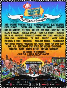 Vans Warped Tour 2018, UPCOMING ROCK AND METAL EVENTS AROUND THE WORLD June 2018, sickandsound, US summer festivals, metal festival, concert dates, European Tour 2018, upcoming festivals, upcoming hard rock and metal festivals, festival, concerts, metalcore, deathcore, punk rock, hard rock, heavy metal, death metal, post-hardcore, A Perfect Circle European Tour, Arch Enemy European Tour, Copenhell Festival, Dead Cross European Tour, Download Festival, Firenze Rocks 2018, Fortarock Festival 2018, Graspop Metal meeting 2018, Greenfield Festival, Hellfest Open Air, Hellfest Open Air 2018, iDays Festival, Iron Maiden - Legacy of The Beast European Tour 2018, Jera On Air 2018, MARILYN MANSON European, Megadeth European Tour, Meshuggah European Tour, Novarock Festival 2018, Rock Am Ring festival 2018, Rock Im Park festival 2018, Rock In Roma, Rock The Castle Festival, Sons Of Apollo European Tour, Tuska Open Air 2018, USA Cross country Vans Warped Tour 2018, Vans Warped Tour 2018
