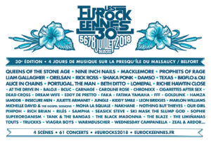 Les Eurockeennes 2018, UPCOMING ROCK AND METAL EVENTS AROUND THE WORLD July 2018, sickandsound, US summer festivals, metal festival, concert dates, European Tour 2018, upcoming festivals, upcoming hard rock and metal festivals, festival, concerts, metalcore, deathcore, punk rock, hard rock, heavy metal, death metal, post-hardcore, alternative metal, alternative rock, Rugby Sound Festival, Alice In Chains European Tour, A Perfect Circle Italian date, A Perfect Circle European Tour, Iced Earth European Tour, Myles Kennedy European Tour, Lacuna Coil Italian date, Lacuna Coil European Tour, Pennywise European Tour, Deep Purple European Tour, Rock In Roma 2018, Summerfest 2018, TRNSMT festival, Roskilde Festival 2018, Prophets Of Rage European Tour, Hollywood Vampires European Tour, Rock For People 2018, Open'er Festival 2018, Rockwerchter 2018, Les Eurockéennes festival, Mogwai European Tour, Iron Maiden Legacy Of The Beast European Tour, Nos Alive 2018, Rock Fest Wisconsin 2018, 2000trees 2018, Rock In Park Open Air 2018 Grosseto, Inkcarceration Music and Tattoo Festival, Obscene Extreme Festival 2018, Colony Summer Fest, Joe Satriani What Happens Next Tour, Milano Summer Festival 2018, Scorpions Crazy World Tour, MetalDays 2018, Impact Music Festival, Heavy Montreal, EPICA European Tour, EPICA Italian date