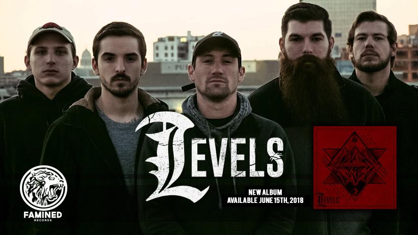 Levels review, Levels - Mind feat. Myke Terry of Volumes, Levels, Levels band, Levels progressive metalcore band, progressive metal, djent, Famined Records, Chelsea Coronin, sickandsound, metalcore album review, progressive metalcore bands, djent bands, progressive metalcore albums 2018, metalcore albums 2018, Jake Sanders, Rob Mathews, Jacob Hubbard, Dalton Kennerly, Jager Felice, May Flower, Bloodstream, Disorder, Alive, Cosmic Waves, Mind, Slip, Doppelgänger, Guilt, Fall to Earth, Define, Levels debut album, Levels self-titled album, Levels self-titled album review, Levels self-titled album recensione, Levels self-titled album tracklist, Listen to Levels self-titled album, Ascolta il nuovo self-titled album dei Levels, Stream Levels self-titled album, Chris Cave, Defiled Management, Wavelink Agency, Levels band metalcore