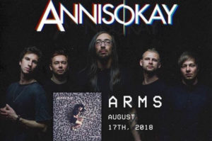 Annisokay Arms review, Annisokay, Annisokay band, Annisokay post-hardcore band, Annisokay Arms, Annisokay Arms album, Annisokay Arms tracklist, Annisokay Arms recensione, Annisokay Arms review, Ascolta Annisokay Arms, Stream Annisokay Arms, Listen to Annisokay Arms, latest album by Annisokay, sickandsound, post-hardcore, metalcore, post-hardcore albums 2018, post-hardcore bands, German post-hardcore, SharpTone Records, pos-hardcore album review, Coma Blue, Unaware, Good Stories, Fully Automatic, Sea Of Trees, Innocence Was Here, Humanophobia, End Of The World, Escalators, Private Paradise, One Second,Locked Out Locked In, Dave Grunewald, Christoph Wieczorek, Philipp Kretzschmar, Norbert Rose, Nico Vaeen, Annie Are You Okay? EP, You Always EP, Devil May Care, The Lucid Dream[er], Enigmatic Smile, Annisokay discography, Arising Empire, Annisokay new album, Annisokay lineup, Benny Richter producer, top metalcore albums 2018, metalcore albums August 2018, post-hardcore albums August 2018