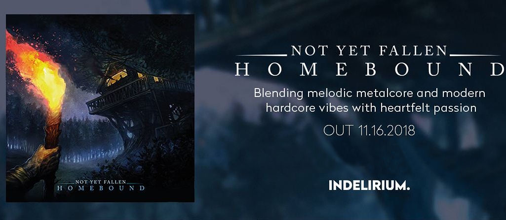 Not Yet Fallen Homebound review, Not Yet Fallen, Not Yet Fallen band, Not Yet Fallen Homebound EP, Listen to Not Yet Fallen Homebound EP, Stream Not Yet Fallen Homebound EP, Indelirium Records, PR LODGE Agency Europe, Eros Pasi, Not Yet Fallen Homebound review, Not Yet Fallen Homebound recensione, Not Yet Fallen Homebound EP tracklist, metal hardcore, Italian metalcore, metalcore, hardcore, Italian hardcore, hardcore bands, metalcore bands, underground metalcore bands, underground hardcore bands, NowPlaying, NetYetFallenHomeboundEP, hardcore EP 2018, metalcore EP 2018, album hardcore novembre 2018, album hardcore 2018, sickandsound, album review, hardcore album review, metalcore 2018, metalcore albums 2018, recensione album, pubblicato Collapsing Under Broken Icons EP, Remembrance EP, Closing Lines, Lone Walker (Foreword), The Lesser Evil (With Regard To Anxiety), Survivalist (About A Wreck), Countless Steps (Concerning Change), A Catharsis Pt. I (Detachment), A Catharsis PT. II (The Comeback Chronicles), notyetfallenhc