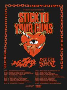 "Stick To Your Guns Europe Tour 2019,Stick To Your Guns, Stick To Your Guns band, Stick To Your Guns hardcore band, hardcore, metalcore, Stick To Your Guns True View tour, Stick To Your Guns European Tour 2019, Stick To Your Guns Nasty Get The Shot EU tour April 2019, Pure Noise Records, Austin Griswold, Secret Service PR, Jesse Barnett, Chris Rawson, Josh James, Andrew Rose, George ""Schmitty"" Schmitz, Stick To Your Guns interview, Jesse Barnett Stick To Your Guns, interview with Jesse Barnett of Stick To Your Guns, sickandsound, interviews, STYG, STYG tour, Stick To Your Guns Nasty Get The Shot tour, Kingstar Music, End Hits Records, Stick To Your Guns European dates 2019, hardcore bands, hardcore tours 2019"