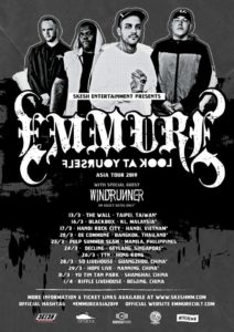"Windrunner Emmure Asia tour 2019, Emmure, Emmure metalcore band, Emmure deathcore band, sickandsound, Look At Yourself, Nuclear Blast, SharpTone Records, Frankie Palmeri, Joshua Travis, Phil Lockett, Josh ""Baby J"" Miller, Emmure Cult, deathcore, metalcore, Emmure Look At Yourself Asia Tour 2019, Emmure Windrunner Look At Yourself Tour Asia 2019, Famined Records, Emmure Look At Yourself album, Windrunner Mai album, Skesh Entertainment, Emmure + Windrunner tour, Windrunner, Windrunner band, Windrunner metalcore band, djent, post-hardcore, progressive metalcore, Duong Bui, Trung Tôn, Nam Dao, Híu NT, David Hudd, Mulan, Oleander, Sakura, Marigold, Orchid, Dahlia, MAI, Cedar, Rose, Narcissus, Lotus, Windrunner Asia tour 2019"