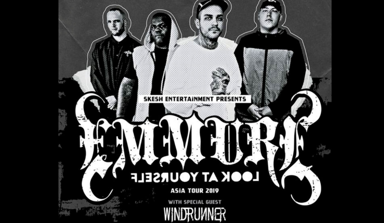 "Windrunner Emmure Asia tour 2019 article, Emmure, Emmure metalcore band, Emmure deathcore band, sickandsound, Look At Yourself, Nuclear Blast, SharpTone Records, Frankie Palmeri, Joshua Travis, Phil Lockett, Josh ""Baby J"" Miller, Emmure Cult, deathcore, metalcore, Emmure Look At Yourself Asia Tour 2019, Emmure Windrunner Look At Yourself Tour Asia 2019, Famined Records, Emmure Look At Yourself album, Windrunner Mai album, Skesh Entertainment, Emmure + Windrunner tour, Windrunner, Windrunner band, Windrunner metalcore band, djent, post-hardcore, progressive metalcore, Duong Bui, Trung Tôn, Nam Dao, Híu NT, David Hudd, Mulan, Oleander, Sakura, Marigold, Orchid, Dahlia, MAI, Cedar, Rose, Narcissus, Lotus, Windrunner Asia tour 2019"