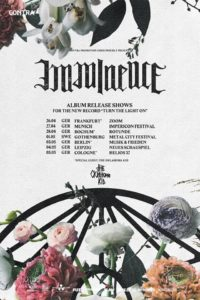 Imminence Turn The Light On tour, Imminence, Imminence band, Imminence metalcore band, metalcore, Imminence Sweden, Arising Empire, SharpTone Records, Austin Griswold, Secret Service PR, Eddie Berg, Harald Barrett, Peter Hanström, Christian Höijer, This Is Goodbye, Turn The Light On, interview with Imminence, Imminence interview, interviews, interview with Harald Barrett of Imminence, Imminence Turn The Light On, Imminence Turn The Light On album, Imminence Turn The Light On tracklist, Listen to Imminence Turn The Light On, Stream Imminence Turn The Light On, Ascolta Imminence Turn The Light On, metalcore albums 2019, metalcore albums April 2019, nuovi album metalcore, metalcore releases April 2019, Erase, Paralyzed, Room to Breathe,Saturated Soul, Infectious, The Sickness, Death of You, Scars, Disconnected, Wake Me Up, Don't Tell a Soul,Lighthouse, Love & Grace, Imminence Turn The Light On review, Imminence Turn The Light On recensione, imminenceswe, Imminence Turn The Light On release tour dates, Imminence Turn The Light On release tour, Imminence tour, alternative metalcore, metalcore bands, alternative metalcore bands, metalcore album