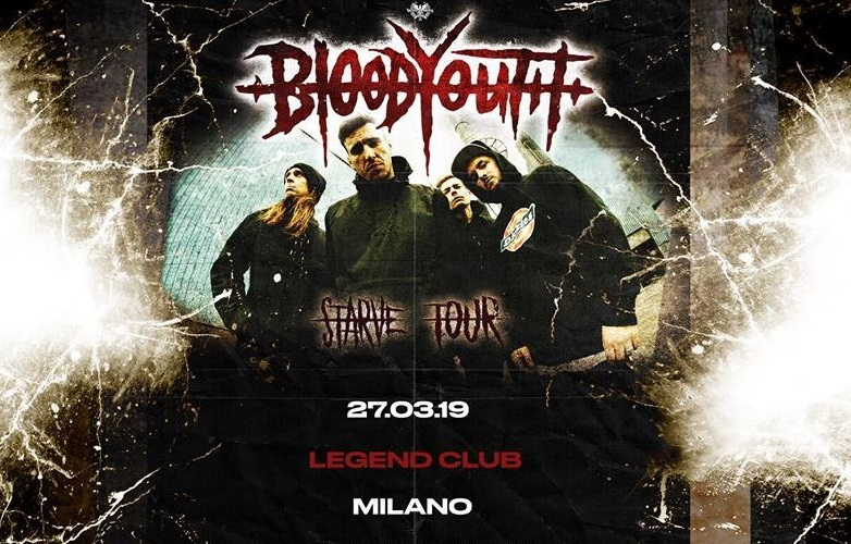 Blood Youth interview, Kaya Tarsus Blood Youth live Legend Club 27 3 2019, Blood Youth, Blood Youth band, KARMA PHOTO Ph credit Emanuela Giurano, Blood Youth hardcore band, nu metal, hardcore, Blood Youth nu metal band, {51/50}, Starve, Cut Me Open, Spineless, Nerve, The Answer, Waste Away, {stone.tape.theory}, Visitant, Keep You Alive, Nothing Left, Hate, Exhale, Rude Records, Blood Youth Starve, Blood Youth Starve album, Blood Youth Starve tracklist, Stream Blood Youth Starve, Listen to Blood Youth Starve, Ascolta Blood Youth Starve, sophomore album Blood Youth, Kaya Tarsus, Chris Pritchard, Matt Hollinson, Sam Hallett, Inside My Head EP, Closure EP, Beyond Repair EP, KINDA, KINDA agency, nu metal albums 2019, nu metal releases 2019, album nu metal 2019, nuove uscite metal 2019, Blood Youth Starve recensione, Blood Youth Starve review, sickandsound, Blood Youth UK, interviews, Blood Youth interview, interview with Kaya Tarsus of Blood Youth Legend Club Milan Italy, Kaya Tarsus of Blood Youth live in Milan, Blood Youth live @ Legend Club Milan Italy 27 3 2019