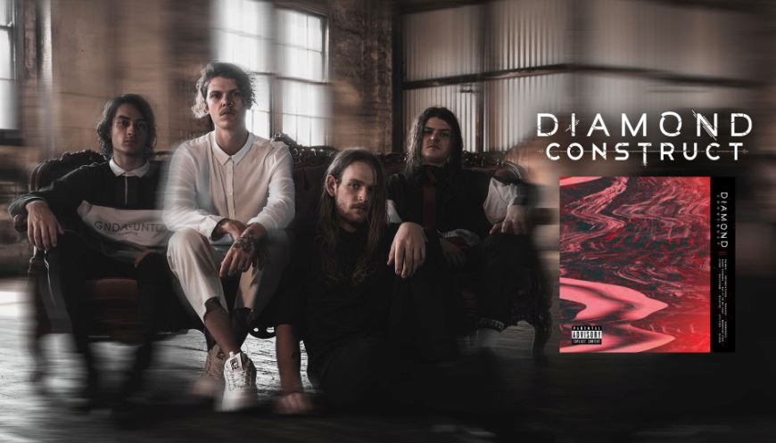 Diamond Construct self-titled album review, Diamond Construct, Diamond Construct band, Diamond Construct metalcore band, metalcore, aggressive metalcore, Australian metalcore, Australian metalcore bands, metalcore bands, metalcore albums, new metalcore albums May 2019, new metalcore releases May 2019, nuove uscite metalcore, nuovi album metalcore maggio 2019, metalcore album review, recensioni metalcore, sickandsound, Greyscale Records, Kynan Groundwater, Braden Groundwater, Alex Ford, Adam Kilpatrick, Animus, Dreamcatcher, Paradox, Submerged, Night Terrors, Say it To My Face, Morphine Eyes, Hypno, Hailstorm, Wildfire, Attitude, Gloom, Diamond Construct self-titled album, Diamond Construct self-titled album tracklist, Listen to Diamond Construct self-titled, Stream Diamond Construct self-titled, Ascolta Diamond Construct self-titled, Diamond Construct Diamond Construct, DC band, diamondconstructaus, metalcore 2019, metalcore albums 2019, Diamond Construct self-titled album review