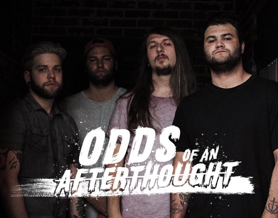 Odds of An Afterthought interview, Odds of An Afterthought, Odds of An Afterthought band, Odds of An Afterthought metalcore band, metalcore breakout bands, metalcore bands, metalcore albums, Odds of An Afterthought Through Eyes of Change EP tracklist, Odds of An Afterthought Through Eyes of Change EP, metalcore EP, new metalcore albums May 2019, new metalcore releases May 2019, nuove uscite metalcore, nuovi album metalcore, new metalcore EPs, metalcore 2019, sickandsound, Carry The 4 PR, James Lloyd, Listen to Odds of An Afterthought Through Eyes of Change EP, Ascolta Odds of An Afterthought Through Eyes of Change EP, Stream Odds of An Afterthought Through Eyes of Change EP, Checkmate!, Keep Your Head Up, Kid (ft. Jeremy Schaeffer), Everything Will Be Different Now, Show Me a Sign, Fight or Flight, interview with Odds of An Afterthought, interview with Tanner Greely of Odds of An Afterthought, interviews, metalcore bands interviews, Tanner Greely, Andre Bertrand, Logan Greely, Aaron Eickholt, Finding the True Vine, StrongholdsEP, OOAA, OOAA band, Odds of An Afterthought Through Eyes of Change, metalcore