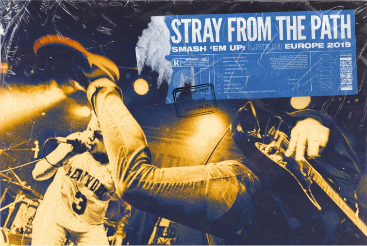 Stray From The Path Smash 'Em Up: Live In Europe review, Stray From The Path, Stray From The Path band, Stray From The Path hardcore band, alternative hardcore, hardcore, sickandsound, KINDA, Kinda Agency, UNFD, Eros Pasi, Stray From The Path Smash 'Em Up: Live In Europe 2019 tracklist, Stray From The Path Smash 'Em Up: Live In Europe review, Stray From The Path Smash 'Em Up: Live In Europe recensione, Listen to Stray From The Path Smash 'Em Up: Live In Europe, Ascolta Stray From The Path Smash 'Em Up: Live In Europe , Stream Stray From The Path Smash 'Em Up: Live In Europe, Andrew Dijorio, Thomas Williams, Anthony Altamura, Craig Reynolds, Goodnight Alt-Right, Badge & a Bullet Pt. II, The Opening Move, Loudest in the Room, Outbreak, The House Always Wins, Snap, Plead the Fifth, Badge & a Bullet, First World Problem Child feat. Sam Carter, Stray From The Path First World Problem Child feat. Sam Carter live video, hardcore bands, New York hardcore bands, new hardcore albums May 2019, nuove uscite hardcore maggio 2019, hardcore albums, new hardcore releases, live album, Stray From The Path live album, Subliminal Criminals, Only Death Is Real, Anonymous, Stray From The Path live