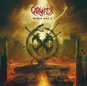 Carnifex World War X album, Carnifex, Carnifex band, Carnifex deathcore band, Carnifex featuring Alissa White-Gluz, Nuclear Blast, Scott Ian Lewis, Shawn Cameron, Jordan Lockrey, Cory Arford, Fred Calderon, Carnifex interview, interview with Carnifex, sickandsound, deathcore interviews, deathcore 2019, deathcore bands, deathcore albums, Carnifex new album, new deathcore releses August 2019, new deathcore albums August 2019, nuovi album deathcore agosto 2019, nuove uscite deathcore, Carnifex World War X, Carnifex World War X album, Listen to Carnifex World War X, Stream Carnifex World War X, Carnifex World War X tracklist, Carnifex lineup, Ascolta Carnifex World War X, deathcore, death metal, The Summer Slaughter Tour, World War X, Visions of the End, This Infernal Darkness, Eyes of the Executioner, No Light Shall Save Us (feat. Alissa White-Gluz), All Roads Lead to Hell (feat. Angel Vivaldi), Brushed by the Wings of Demons, Hail Hellfire, By Shadows Thine Held, CarnifexMetal, interviste deathcore, recensioni deathcore, Carnifex World War X recensione, Carnifex World War X review, Carnifex World War X rating