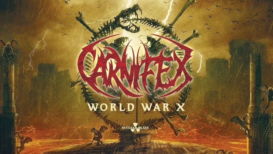 Carnifex World War X recensione, Carnifex, Carnifex band, Carnifex deathcore band, Carnifex featuring Alissa White-Gluz, Nuclear Blast, Scott Ian Lewis, Shawn Cameron, Jordan Lockrey, Cory Arford, Fred Calderon, Carnifex interview, interview with Carnifex, sickandsound, deathcore interviews, deathcore 2019, deathcore bands, deathcore albums, Carnifex new album, new deathcore releses August 2019, new deathcore albums August 2019, nuovi album deathcore agosto 2019, nuove uscite deathcore, Carnifex World War X, Carnifex World War X album, Listen to Carnifex World War X, Stream Carnifex World War X, Carnifex World War X tracklist, Carnifex lineup, Ascolta Carnifex World War X, deathcore, death metal, The Summer Slaughter Tour, World War X, Visions of the End, This Infernal Darkness, Eyes of the Executioner, No Light Shall Save Us (feat. Alissa White-Gluz), All Roads Lead to Hell (feat. Angel Vivaldi), Brushed by the Wings of Demons, Hail Hellfire, By Shadows Thine Held, CarnifexMetal, interviste deathcore, recensioni deathcore, Carnifex World War X recensione, Carnifex World War X review, Carnifex World War X rating