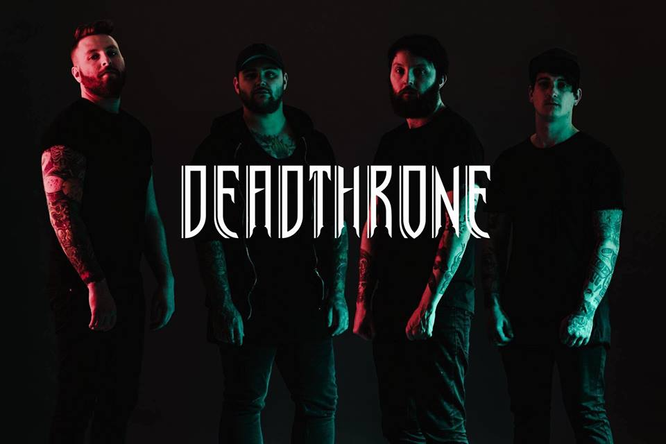 Deadthrone interview, Deadthrone, Deadthrone band, Deadthrone metalcore band, melodic metalcore, metalcore, metalcore bands, metalcore albums, metalcore interviews, interviews, interviste metalcore, NeeCee Agency, Chris Bissette, James Bolton, Sam Clough, Benj Speight, Deadthrone Premonitions, Deadthrone Premonitions album, Deadthrone Premonitions tracklisting, Listen to Deadthrone Premonitions, Stream Deadthrone Premonitions, Ascolta Deadthrone Premonitions, Feel, Runaway, Revival, Time Won't Wait, Wide Awake, Believe, Hearts in Our Hands, Stand Your Ground, Respite, Soothsayer, Beacons, Seven Years, Arising Empire, Deadthrone To Hell and Back EP, metalcore albums August 2019, metalcore 2019, metalcore albums 2019, nuove uscite metalcore, metalcore agosto 2019, new metalcore releases August 2019, metalcore chart, metalcore playlist, melodic metalcore albums, Deadthrone interview, interview with Chris Bissette of Deadthrone, sickandsound, Deadthrone Premonitions artwork, Deadthrone lineup