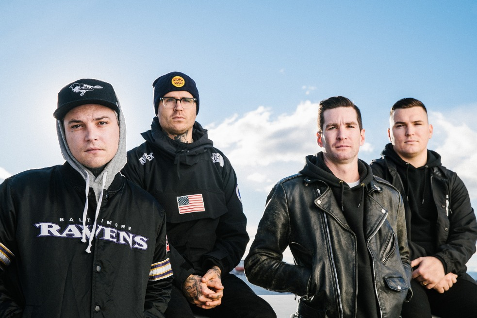 The Amity Affliction, The Amity Affliction band, The Amity Affliction Australian band, The Amity Affliction Everyone Loves You… Once You Leave Them, The Amity Affliction Everyone Loves You… Once You Leave Them album, Pure Noise Records, KINDA, Listen to The Amity Affliction Everyone Loves You… Once You Leave Them, Stream The Amity Affliction Everyone Loves You… Once You Leave Them, The Amity Affliction Everyone Loves You… Once You Leave Them review, The Amity Affliction new album, The Amity Affliction Soak Me In Bleach, The Amity Affliction Everyone Loves You… Once You Leave Them tracklisting, Joel Birch, Ahren Stringer, Dan Brown, Jon Longobardi, The Amity Affliction Soak Me In Bleach Official Video, The Amity Affliction Soak Me In Bleach review, new single by The Amity Affliction, new album by The Amity Affliction, metalcore, Australian metalcore, metalcore reviews, metalcore bands, metalcore albums, The Amity Affliction Australian Tour, The Amity Affliction seventh record, metalcore 2020, upcoming metalcore albums, metalcore albums February 2020, metalcore releases February 2020, new metalcore January 2020, metalcore singles January 2020, metalcore January 2020, Coffin, All My Friends Are Dead, Soak Me in Bleach, All I Do Is Sink, Baltimore Rain, Aloneliness, Forever, Just Like Me, Born To Lose, Fever Dream, Catatonia